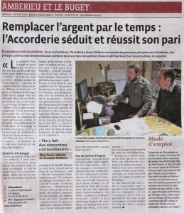 Article Accorderie (Progrés 13-04-15)
