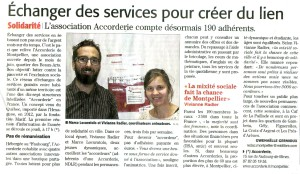 Article du 22 janvier sur Midi Libre