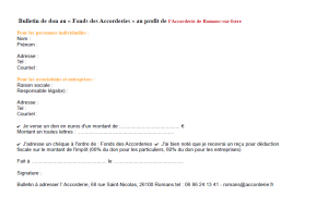 bulletin de dons accorderie
